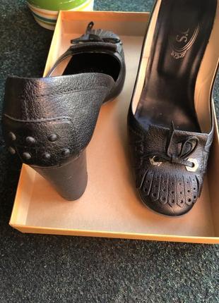 Туфли с аккуратным квадратным носком3 фото
