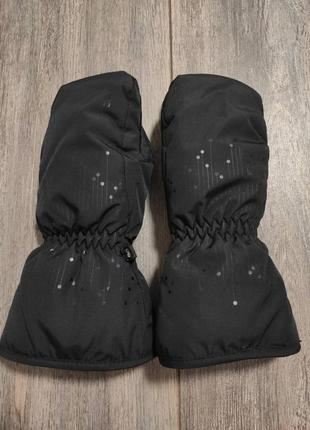 Детские  зимние варежки перчатки ktec hanni glove kids black  waterproof