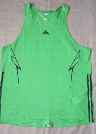 Adidas adizero (xl) спортивная беговая майка мужская