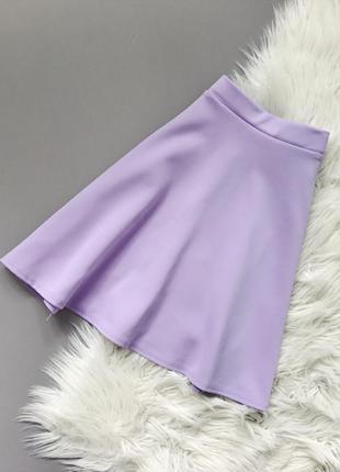 Лиловая юбка boohoo