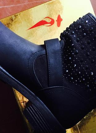 Ботиночки с камушками
