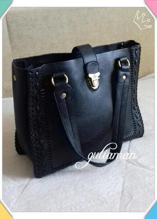 New!!! сумка шоппер от nica оригинал