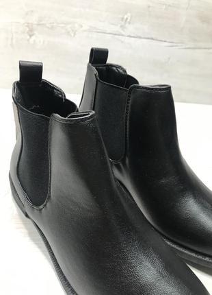 Ботинки чёрные2 фото