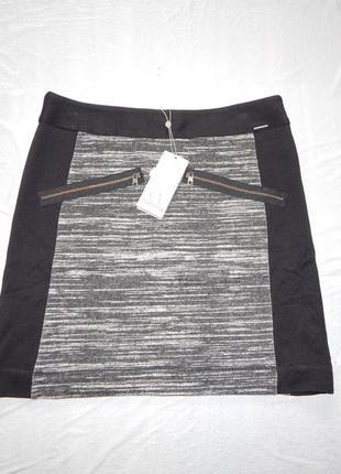 M-l, поб 48-50, новая теплая трикотажная юбка comma