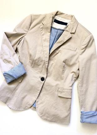 Стильные пиджак блейзер с полосатой подкладкой
