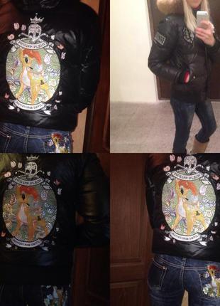 Куртка philipp plein m original бемби
