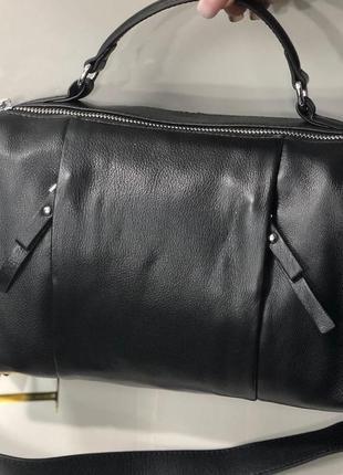 Жерская кожаная вместительная сумка polina eiterou