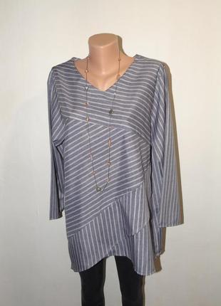 Красивая комбинированная блузочка