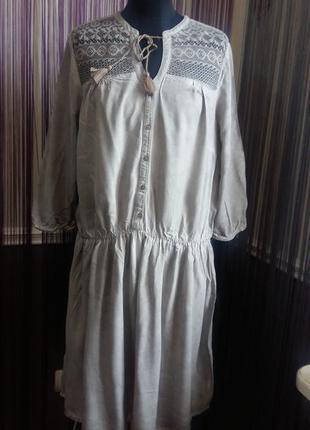 Красивое летнее платье charles vogele