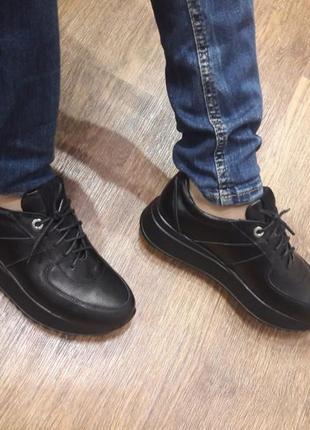 Кожаные кроссовки р.36-41 суперцена