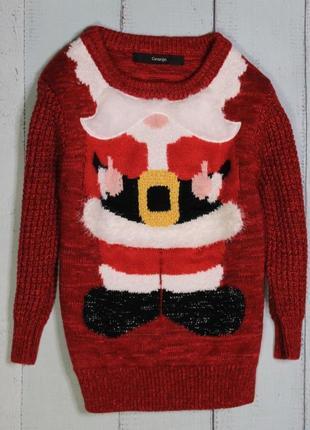 Новогодний свитерок george