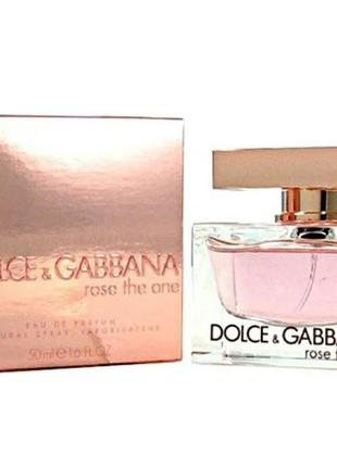 Dolce gabbana rose the one  75 мл женский парфюм