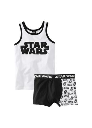Комплект белья звездные войны star wars майка и трусы  lupilu  2-4, 4-6, 6-8, 8-10 лет