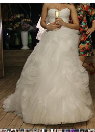 Свадебное платье в стиле veravang