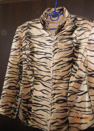 Пиджак тигровый   apart.