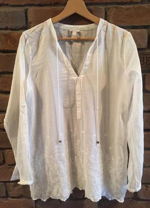 Блузка туника рубашка esprit