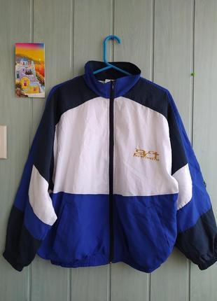 Олимпийка, спортивная кофта на молнии, унисекс, винтажный стиль