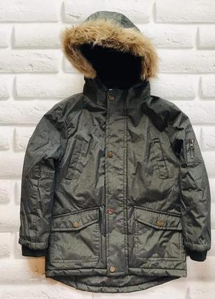 Matalan  стильная  зимняя куртка на мальчика   7-8 лет