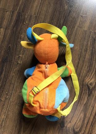 Детский рюкзак коровка