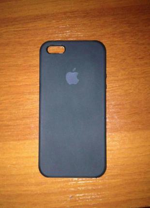 Чехол-накладка apple silicone case для iphone 5/5s/se