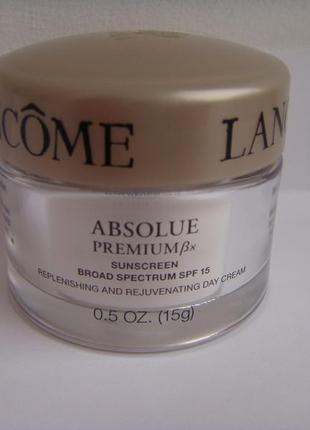 Lancome дневной крем для глубокого восстановления зрелой кожи absolue premium bx