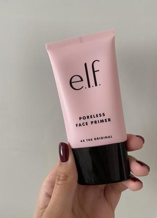 Elf poreless face primer. праймер для жирной кожи с расширенными порами.