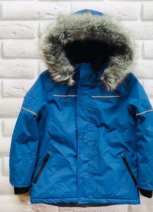 Matalan стильная зимняя куртка на мальчика   7 лет