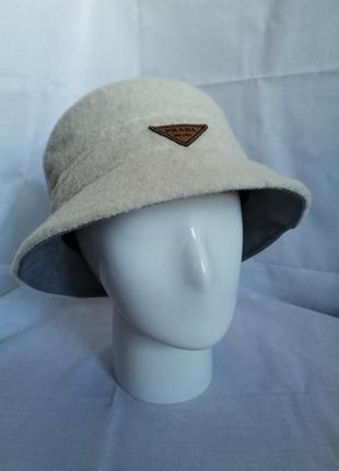 Женская зимняя шляпа панама