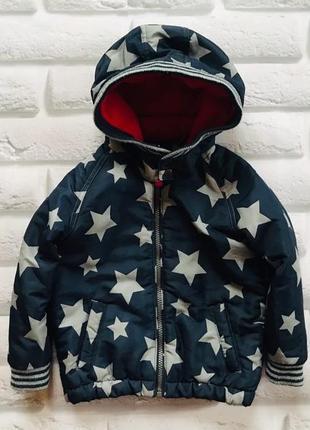 Tu стильная деми  куртка на мальчика  2-3  года