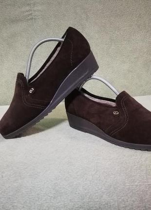 Новые!кожаные туфли на меху  ara,германия