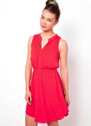 Скидка 20% на обнову . коралловое платье-рубашка