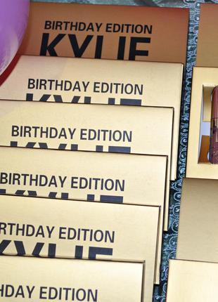 Набор помад kylie birthday edition