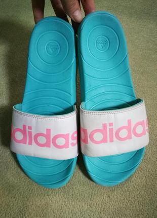 Оригинал,шлепки adidas