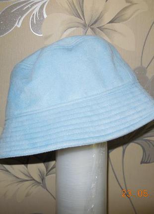 Шляпка голубая  kickers.