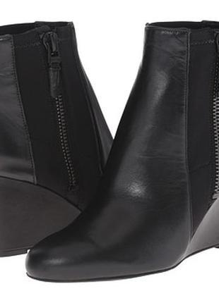 Ботинки кожаные. via spiga filomena размер 8, 5 сша