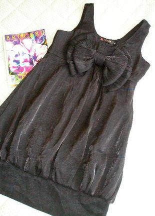 Черное платье от tsega