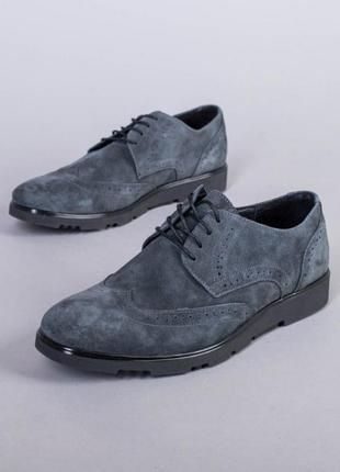 Туфли нат.замша
