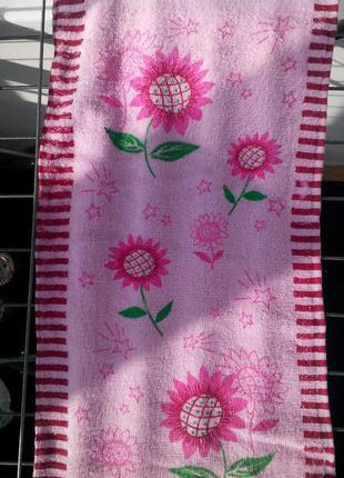 Кухонные полотенца махровые. размер 25*50 см.