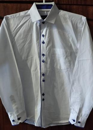 Рубашка на мальчика 7-9 лет