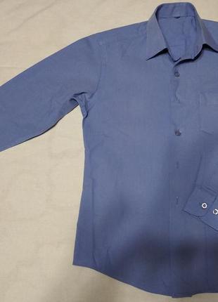 Голубая рубашка на мальчика