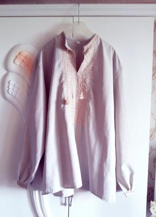 Рубашка/вышиванка большой размер/батал!