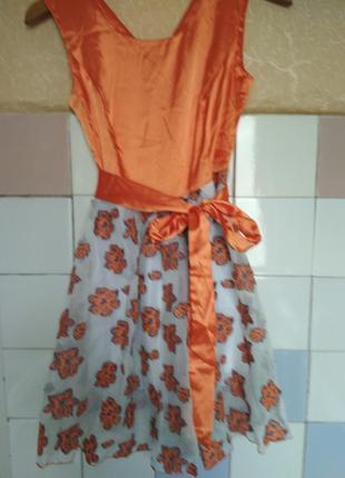 Платье для подростка(12-14лет)новое