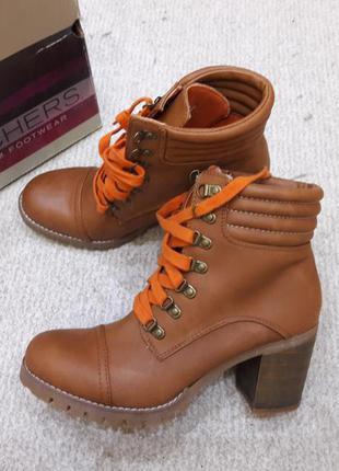 Супер цена стильные деми ботинки skechers - 39, 40