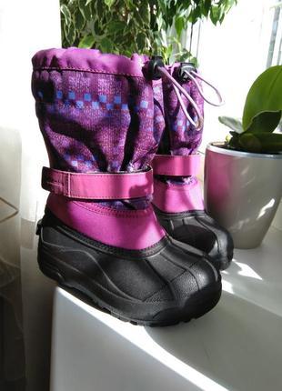 Продам зимние сапоги сноубутси columbia размер 32