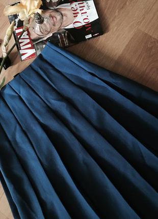 Актуальная юбка миди синего цвета на весь товар скидки смотрите объявления