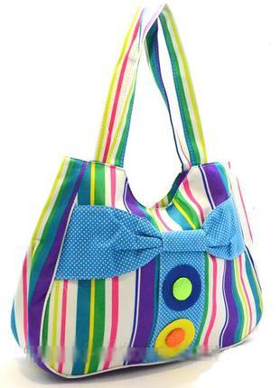 Женская текстильная сумка