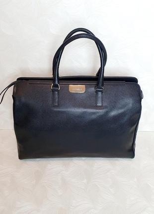 Деловая кожаная сумка coccinelle