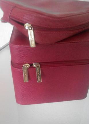 Дорожный чемоданчик и косметичка estee lauder