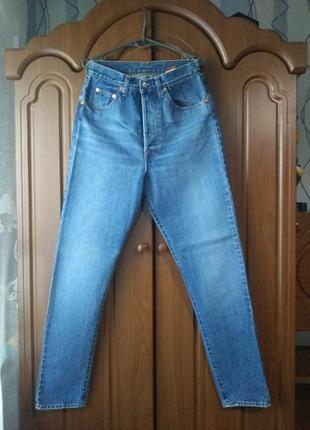 Оригинальные мом джинсы supporter с супер высокой талией италия