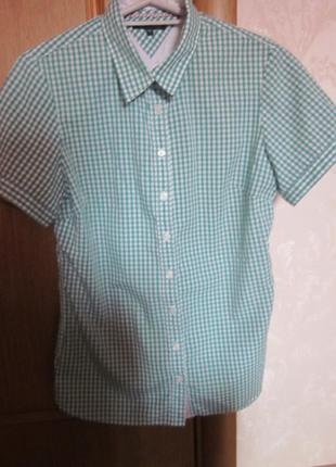 Рубашка tommy hilfiger  размер m